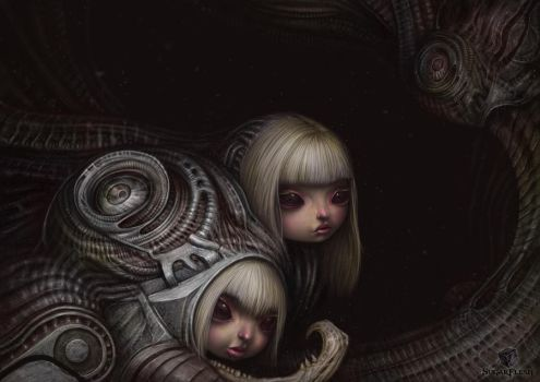 Dolls from the hole by liransz