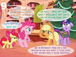 2017 Advent Day 9 That One Kid Who Questions Santa by bronybyexception