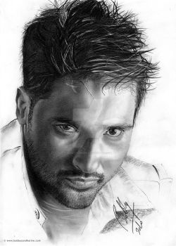 Amrinder Gill Pencil Portrait