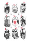 Winter Owls by TeemuJuhani