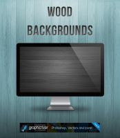 Wood Backgrounds by JaneVision