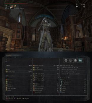 Bloodborne level 130 Ludwig's plague doctor by Deadalivefan