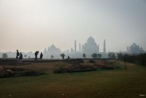 Incredible India - Taj Mahal by Rikitza