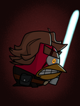 An Angry Sith Lord by AngryBirdsandMixels1