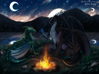 Wings of Fire [COLLAB] - Everlasting Legends by Biohazardia