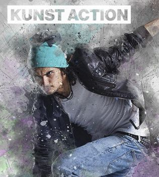 Kunst Photoshop Action by hemalaya