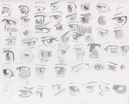 KHR- Guess the eyes by Crosslove