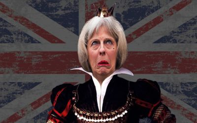 Queen Theresa May by Shirley-Agnew-Art