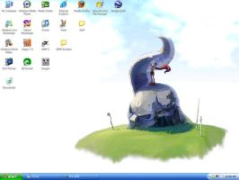 Desktop screenshot by syang70