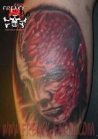 D.D. - face 01 by D-D-Tattoo