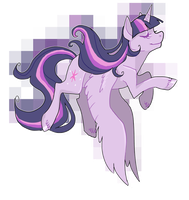 Alicorn Twilight by EllaMRed