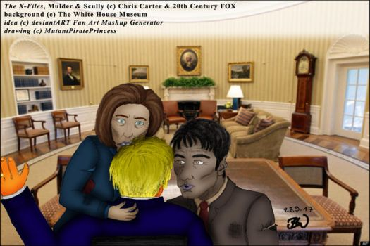 X-Files: Zombies in the White House by MutantPiratePrincess