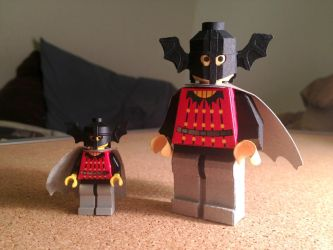 LEGO paperfigures Bat Lord by kspudw
