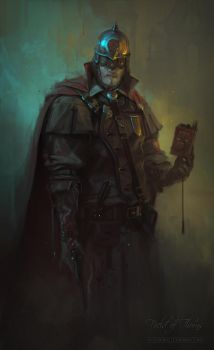 FIELD OF THORNS - WATCHMAN by Caisne