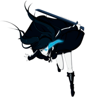 Black Rock Shooter by GoLD-MK