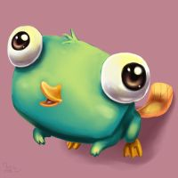 Perry the Cute Platypus by Pink-Shimmer