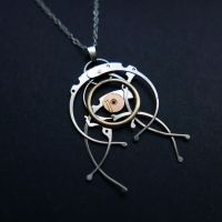 Epsilon (watch parts necklace) by AMechanicalMind