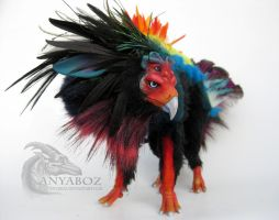 Bateleur Spirit Room Guardian by AnyaBoz