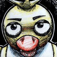 Day 13: Chica the Chicken by InsanelyADD