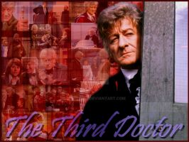 The Third Doctor by Amrinalc