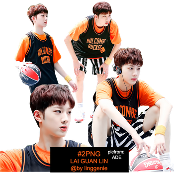 [PNG] /TEASER/ WANNAONE LAI GUAN LIN_bylinggenie by linggenie