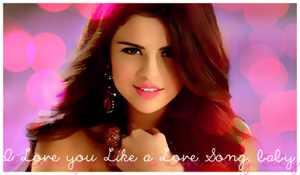 I Love you Like a Love Song by xBielieb
