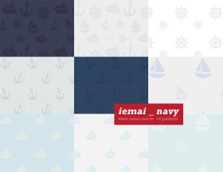 Patterns: Navy by iemai