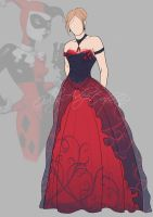 Harley Quinn - Outfit Adopt (Closed) by Girly-Adoptables