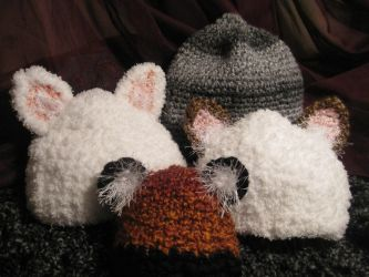 More Hatties Hats by EclecticCalico