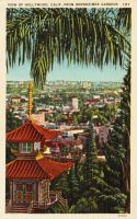 Vintage Los Angeles - Hollywood, From Yamashiro by Yesterdays-Paper