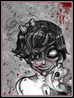 Amelie the Littlest Zombie by Buuya