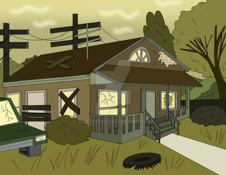 Crappy House by K9X-Toons-n-Stuff