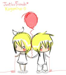 just be friends kagamine by malengil