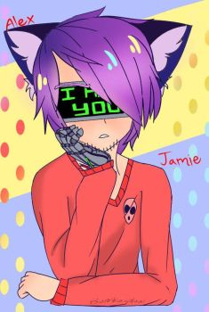 Jamie the neko by Bomkaiplow