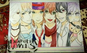 Diabolik lovers!!^^ by NeRi07