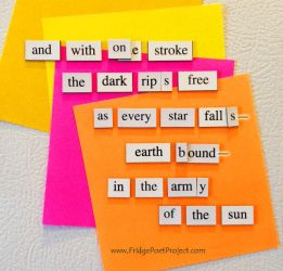 The Daily Magnet #144 by FridgePoetProject