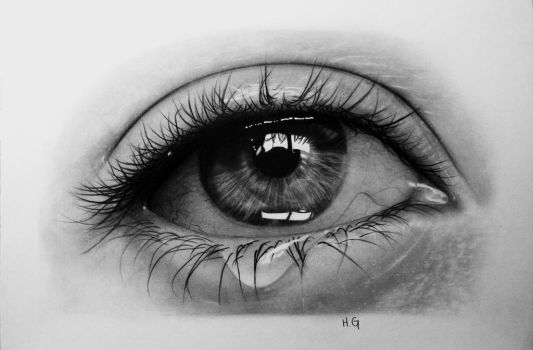 Crying Eye 2 by hg-art