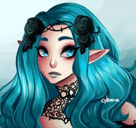 [T] Elven Beauty by Cyleana