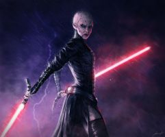 Asajj Ventress by LouizBrito