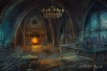 [C] Bone dormitory by MalthusWolf