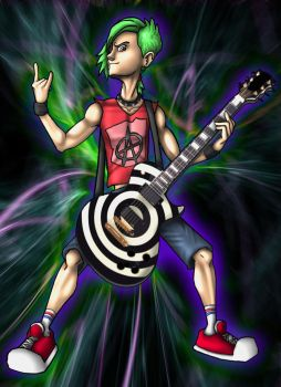Johnny Napalm: '80s Outfit by Aggiepuff