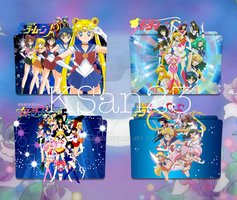 Sailor Moon Packaged Icons