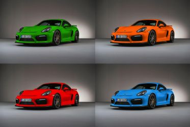 Cayman GT4 PTS Group by jamesaevans