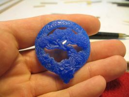 Tree Of Life Pendant (wax) by Cloud-Dragonz
