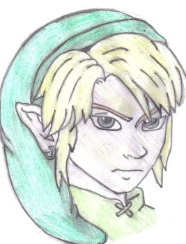 First Attempt At Link by therealmoshmonkey