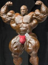 Double Biceps Pose - Bigger Still by n-o-n-a-m-e