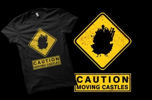 Caution - Moving Castles by Nox-dl