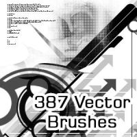 387 Abstract Vector Brushes by MawsCM