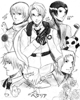 APH Allies Sketch by Nomphy