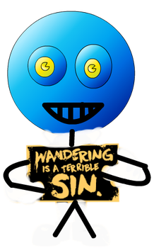 Wandering Is A Terrible Sin Fans by JerrisonGamerYT